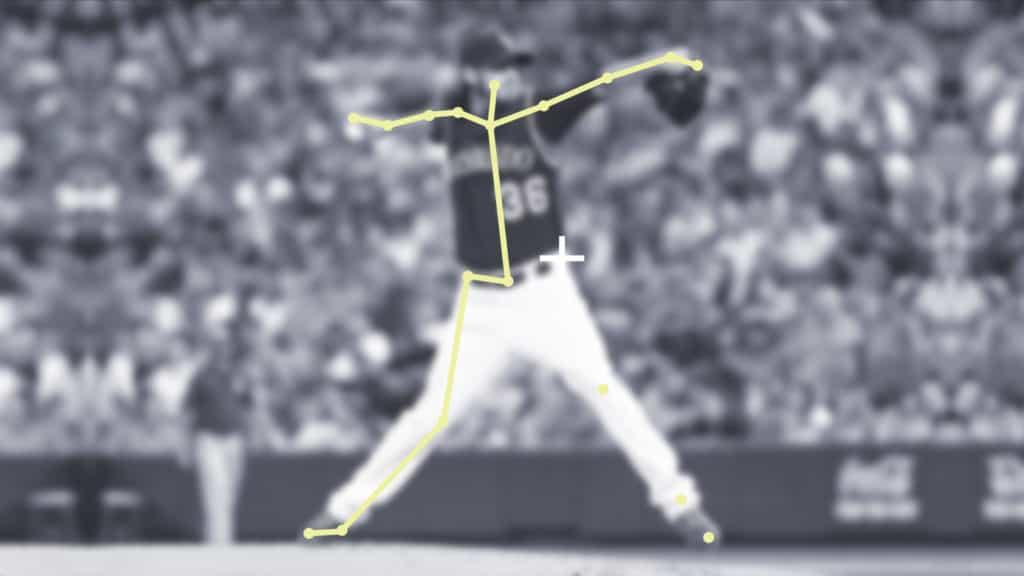 keypoint annotation-baseball