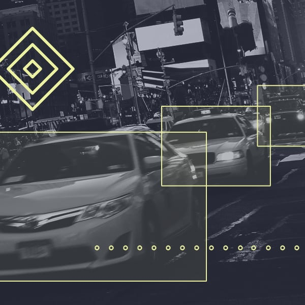 Bounding box annotation of cars, for Autonomous Vehicle applications
