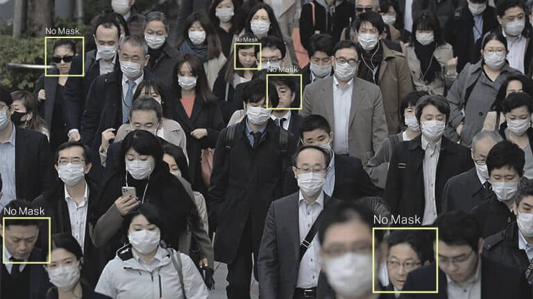 Crowd monitoring in urban spaces