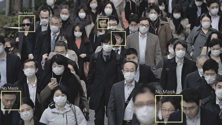 Crowd monitoring urban spaces